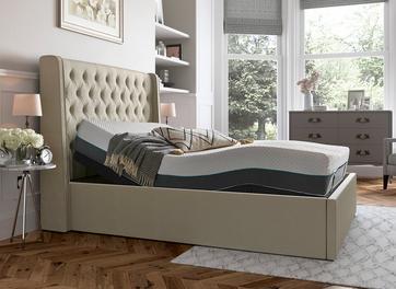 Deacon Sleepmotion 200i Adjustable Upholstered Bed Frame