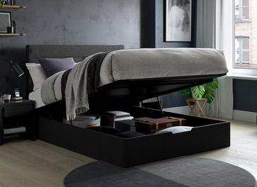 Sutton Upholstered Ottoman Bed Frame