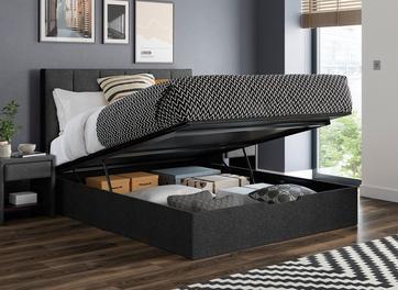 Ealing Upholstered Ottoman Bed Frame