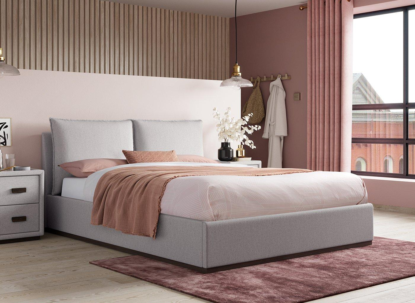 Riley Upholstered Ottoman Bed Frame (£799)