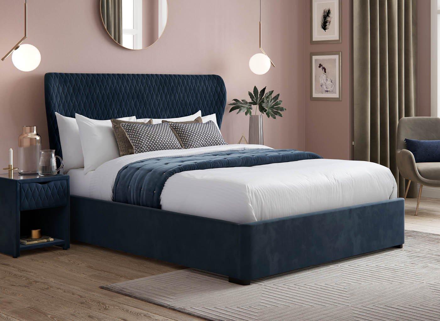 grove-velvet-finish-upholstered-ottoman-bed-frame