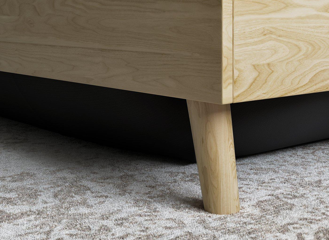 wood-effect-bed-frame
