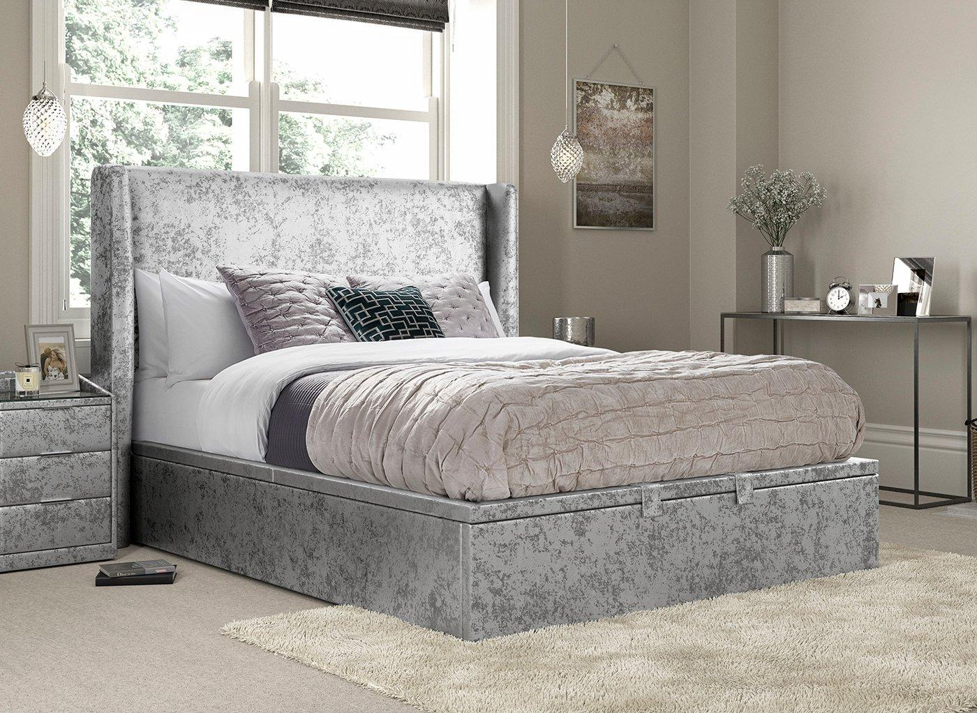 Parmer Upholstered Ottoman Bed Frame (£899)