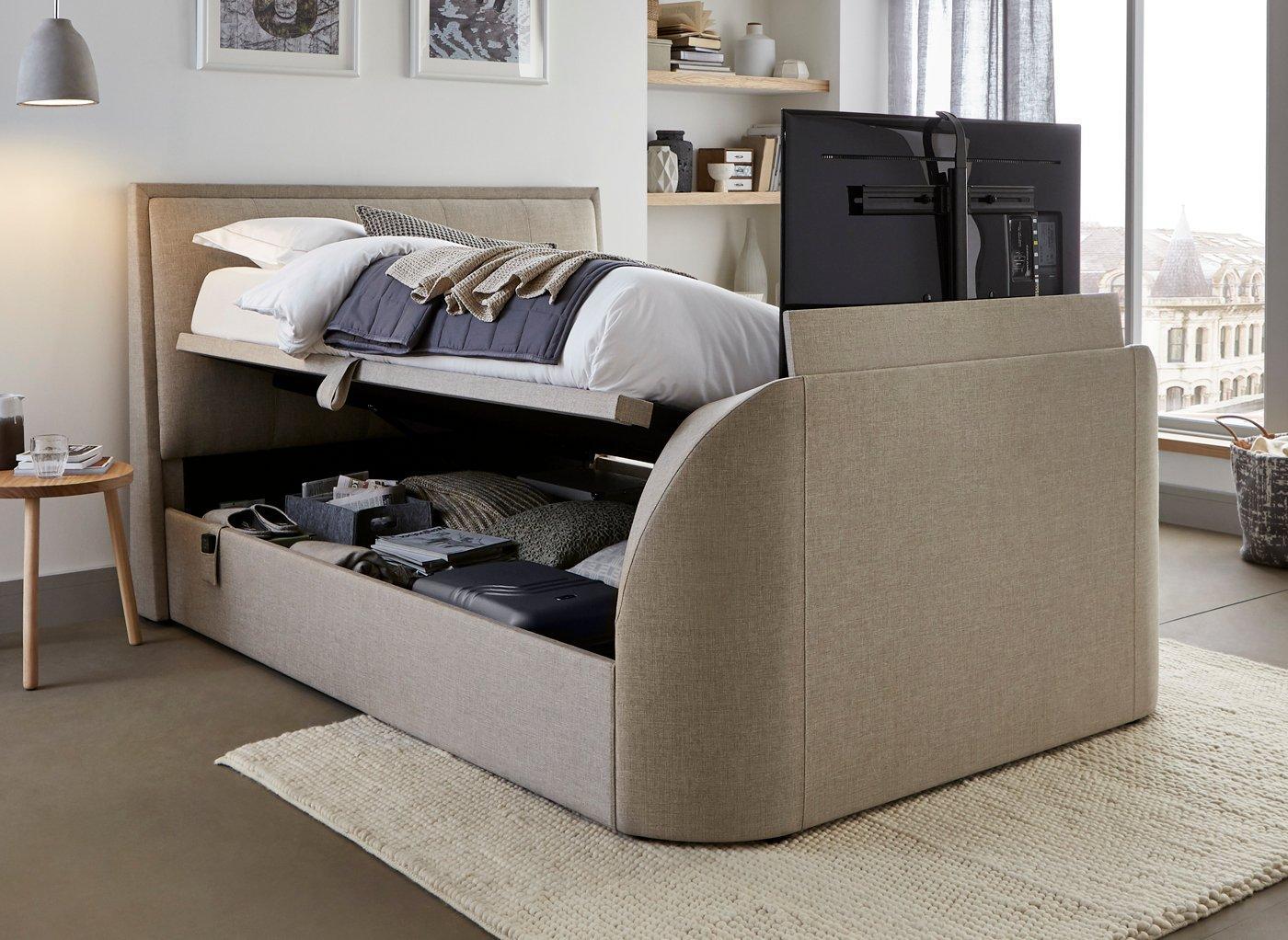 Tv In Bed : Inch tv bed awesome schlafmöbel schön das passende bilder