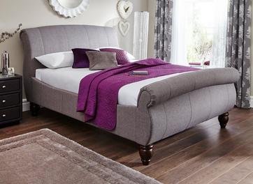 Helsinki Fabric Upholstered Bed Frame