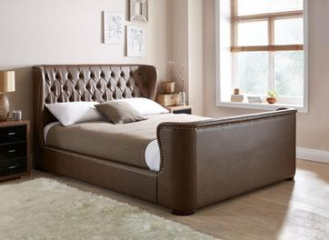 Brussels Upholstered Bed Frame