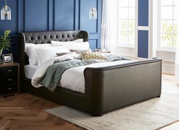 Brussels Upholstered Bed Frame