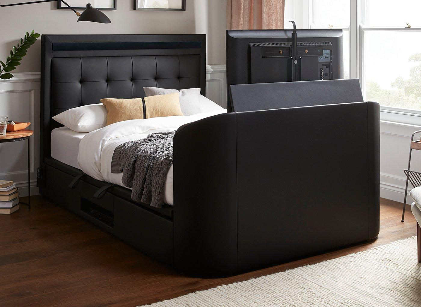 Dreams Tokyo Upholstered 43″ LED TV & 5.1 Surround Sound System Bed Frame from £1599