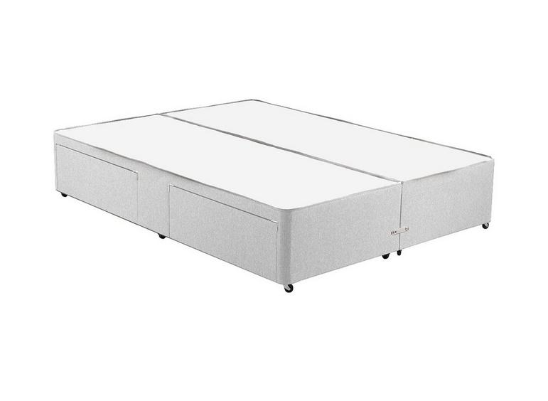 Classic Divan Base 2'6 Small single SILVER