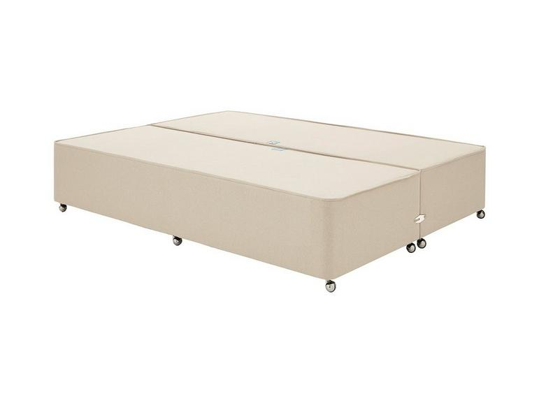 Luxury Divan Base 4'6 Double BEIGE