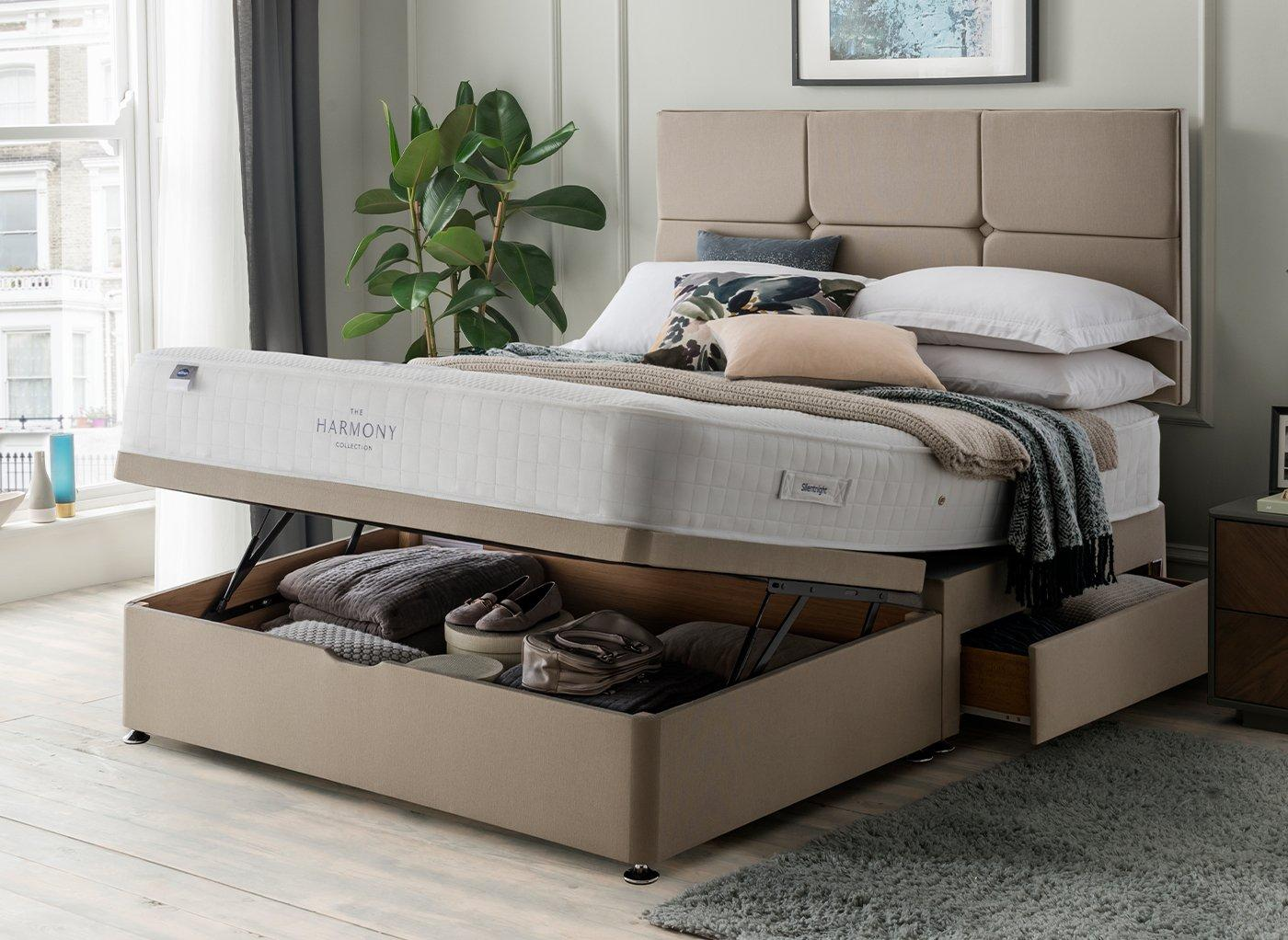 Dreams Silentnight Ottoman Base from £400