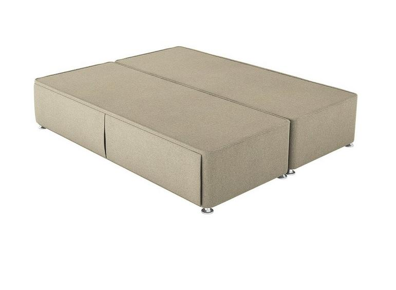 Therapur D P/T Hideaway Base Only Tweed Biscuit 4'6 Double BEIGE