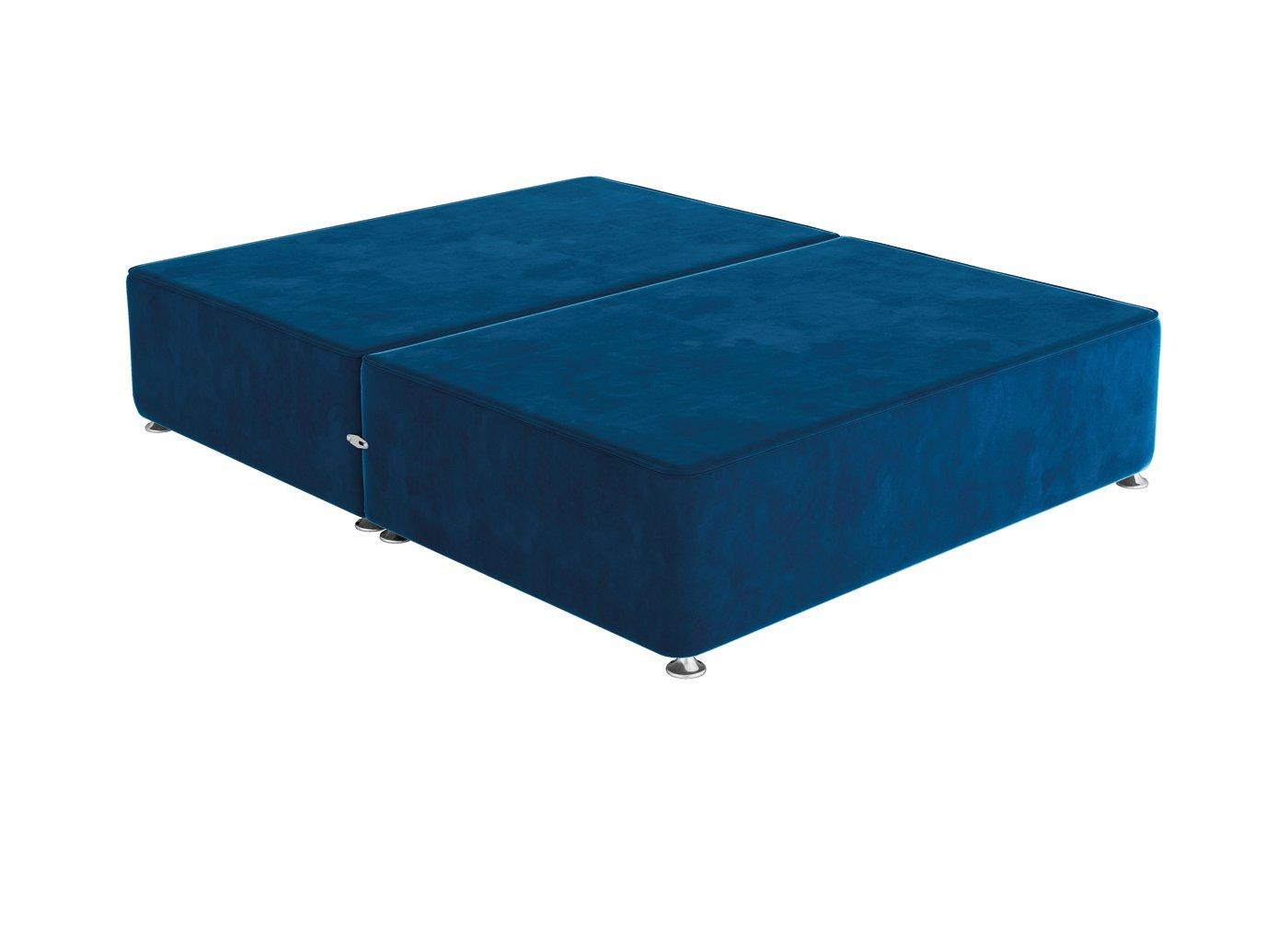 Sleepeezee 4'0 P/T 0 Drw Base Plush Navy 4'0 Small double BLUE