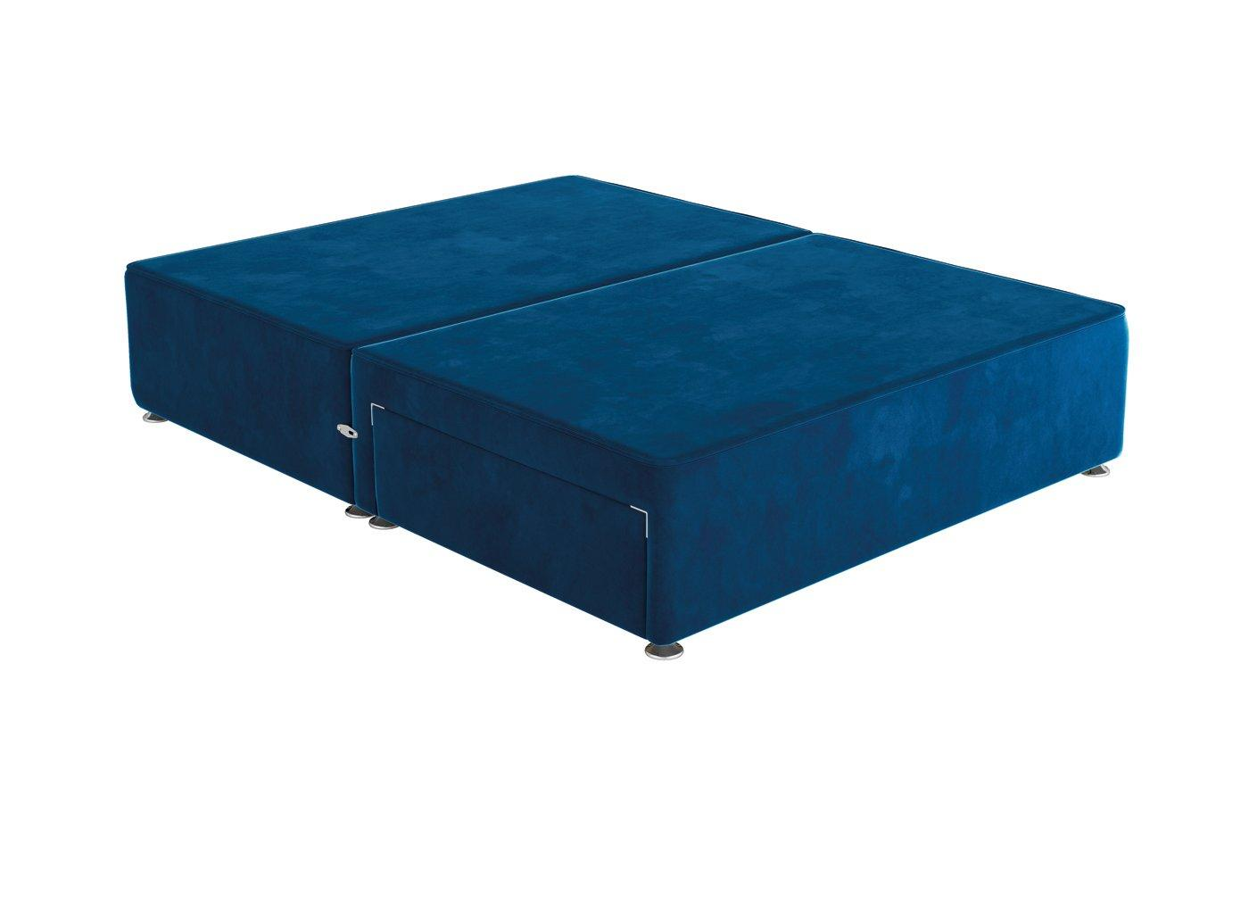 Sleepeezee K P/T 2 Drw Base Plush Navy 5'0 King BLUE