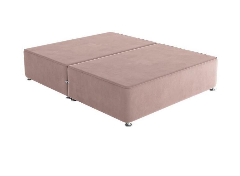 Sleepeezee D P/T 0 Drw Base Plush Pink 4'6 Double