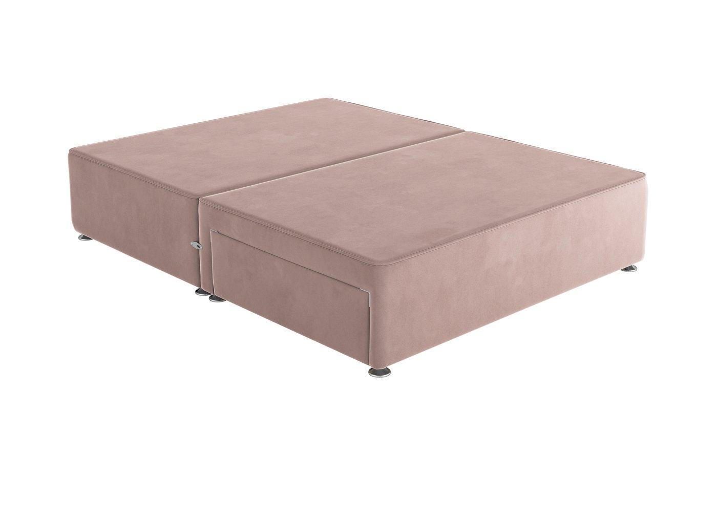 Sleepeezee 4'0 P/T 2 Drw Base Plush Pink 4'0 Small double