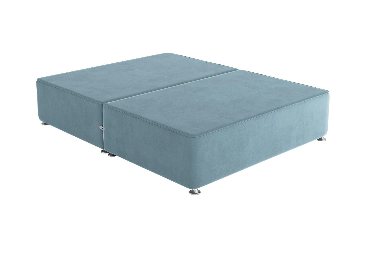 Sleepeezee 4'0 P/T 0 Drw Base Plush Sky 4'0 Small double BLUE