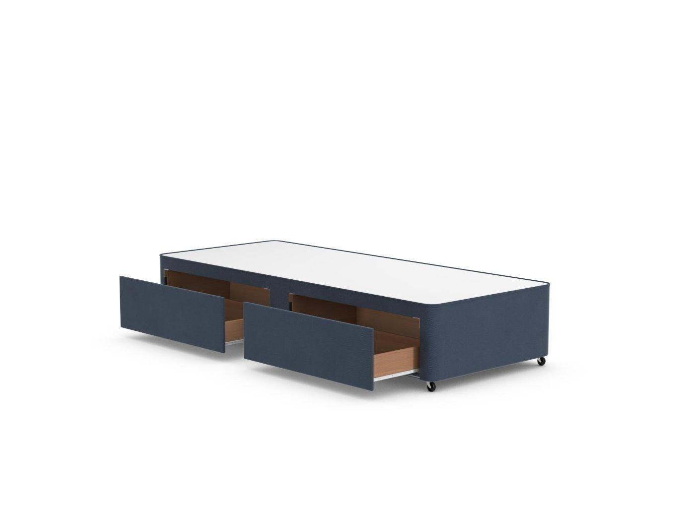 Classic Divan Base 2'6 Small single BLUE
