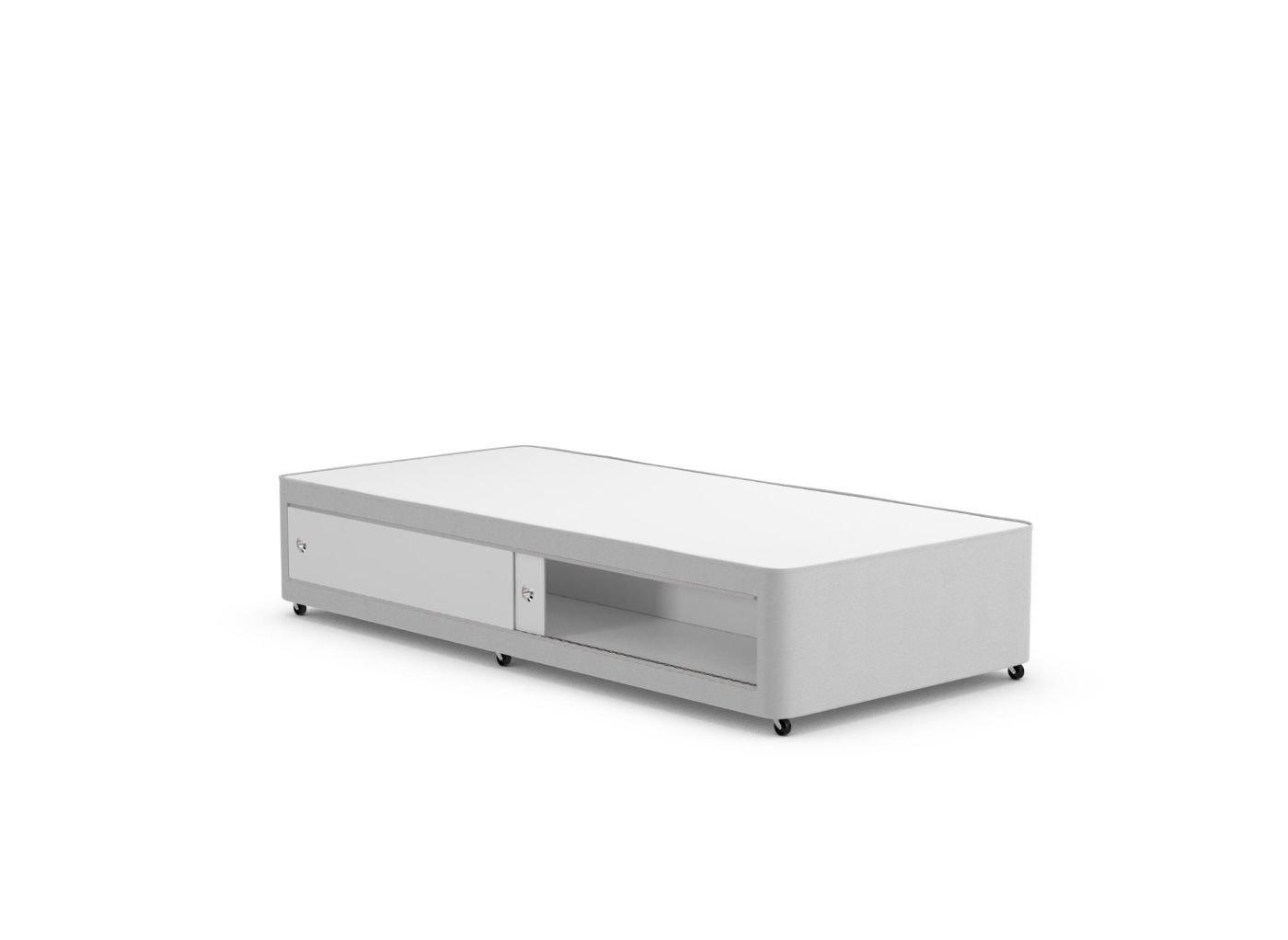 Classic Divan Base 3'0 Single SILVER