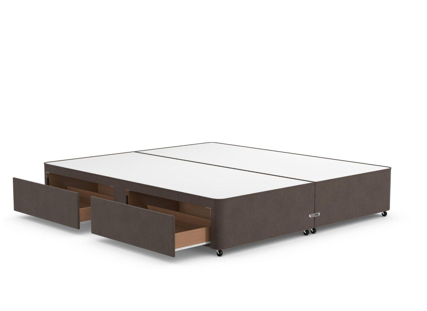 Classic Divan Base 6'0 Super king BROWN