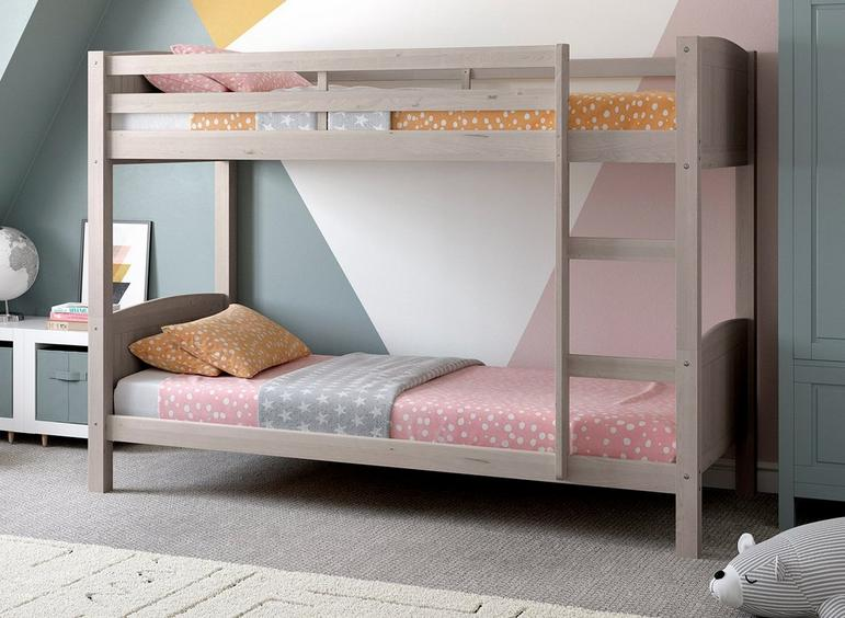 Mars Wooden Bunk Bed GREY