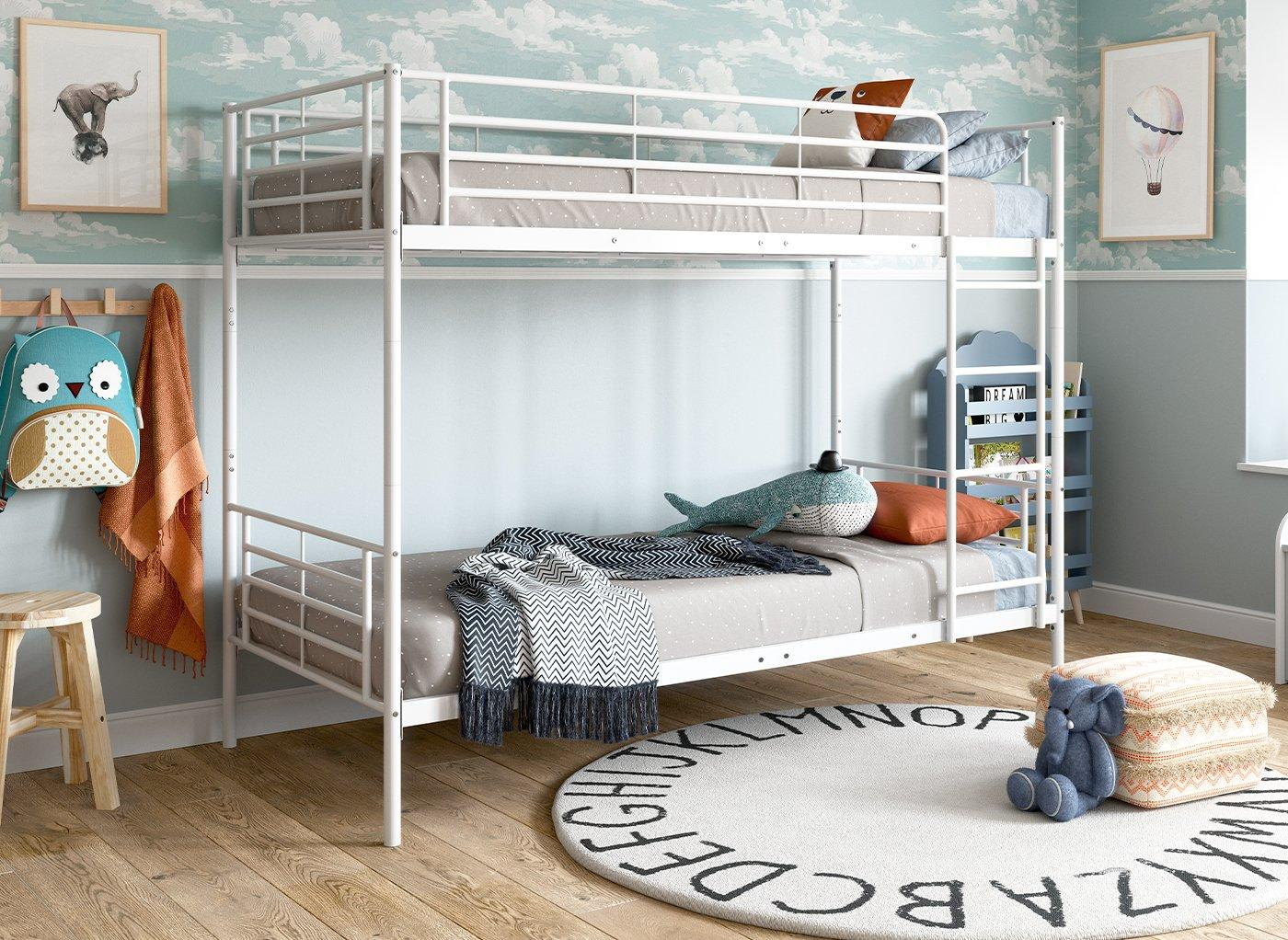 Neptune Metal Bunk Bed Bunk Beds Kids Dreams