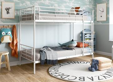 Neptune Metal Bunk Bed