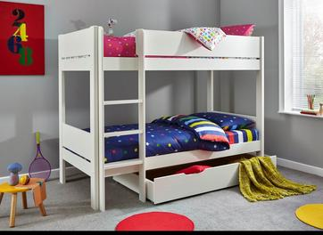 Tinsley Bunk Bed Frame with Drawer