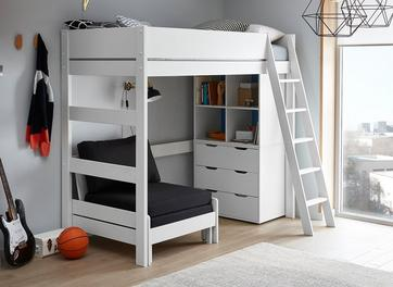 Anderson High Sleeper With Black Chair