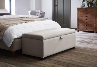 Salisbury Fog Grey Blanket Box