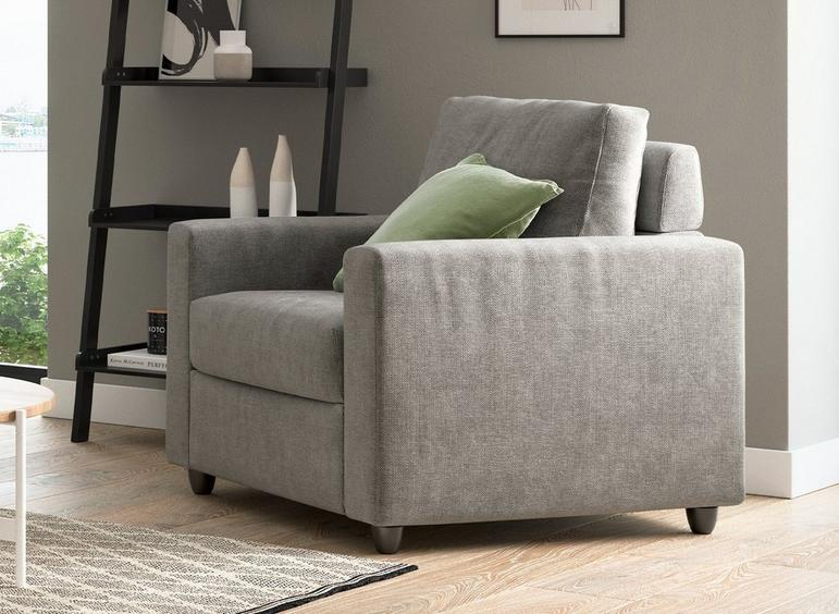 Fabric Accent Chair - Misty GREY