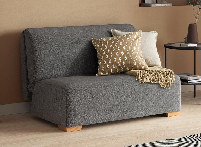 Cork 1 Seater A-Frame Sofa Bed - Grey Single