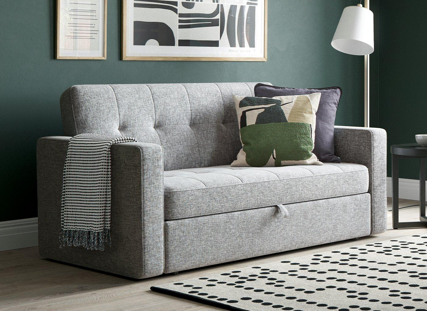 Haze Sofa Bed - Grey