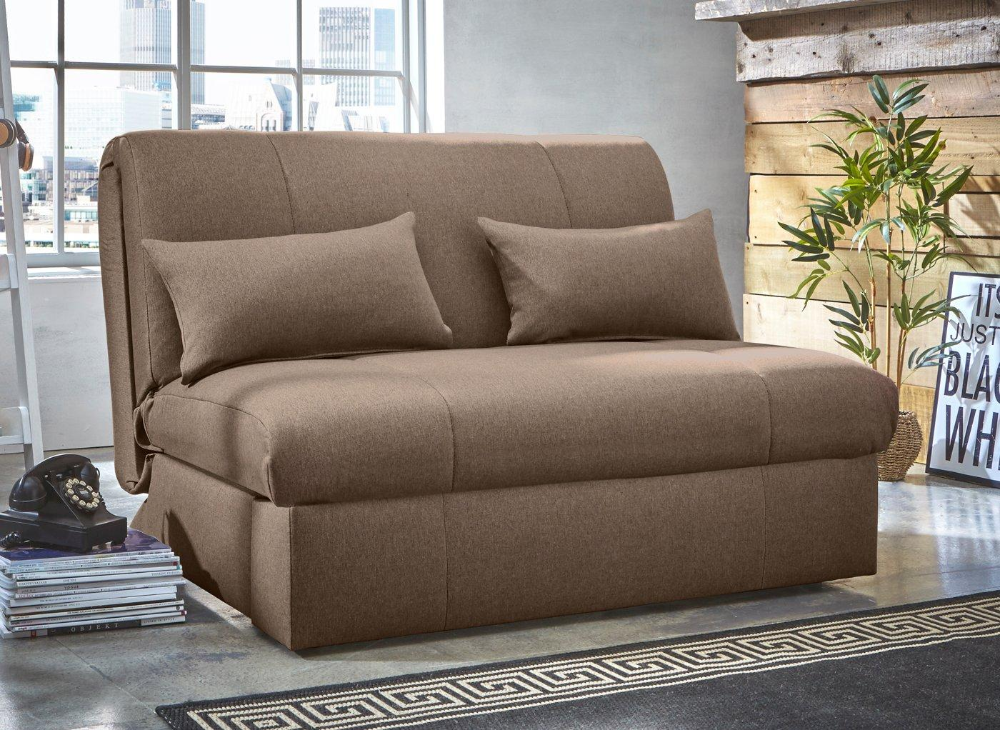 Kelso Sofa Bed Single BROWN