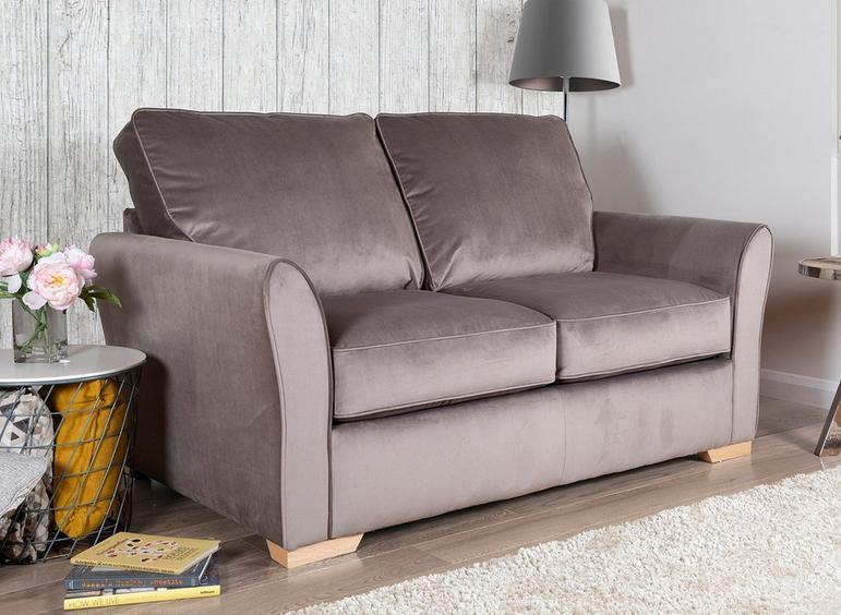 Willis Sofa Bed 3 Seater GREY