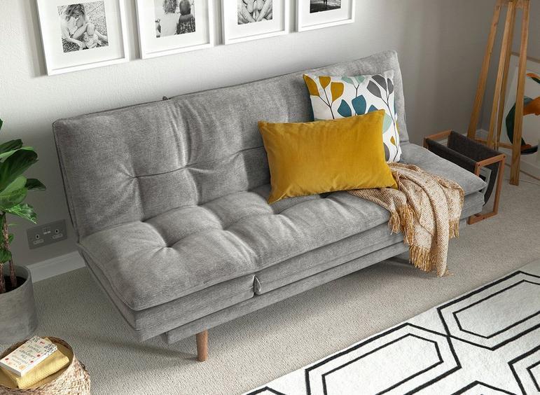 Astounding Dublin 3 Seater Clic Clac Chaise Sofa Bed All Sofa Beds Alphanode Cool Chair Designs And Ideas Alphanodeonline