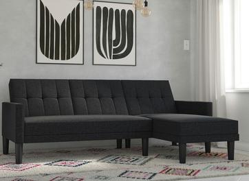Valentina 3 Seater Clic-Clac Corner Sofa Bed