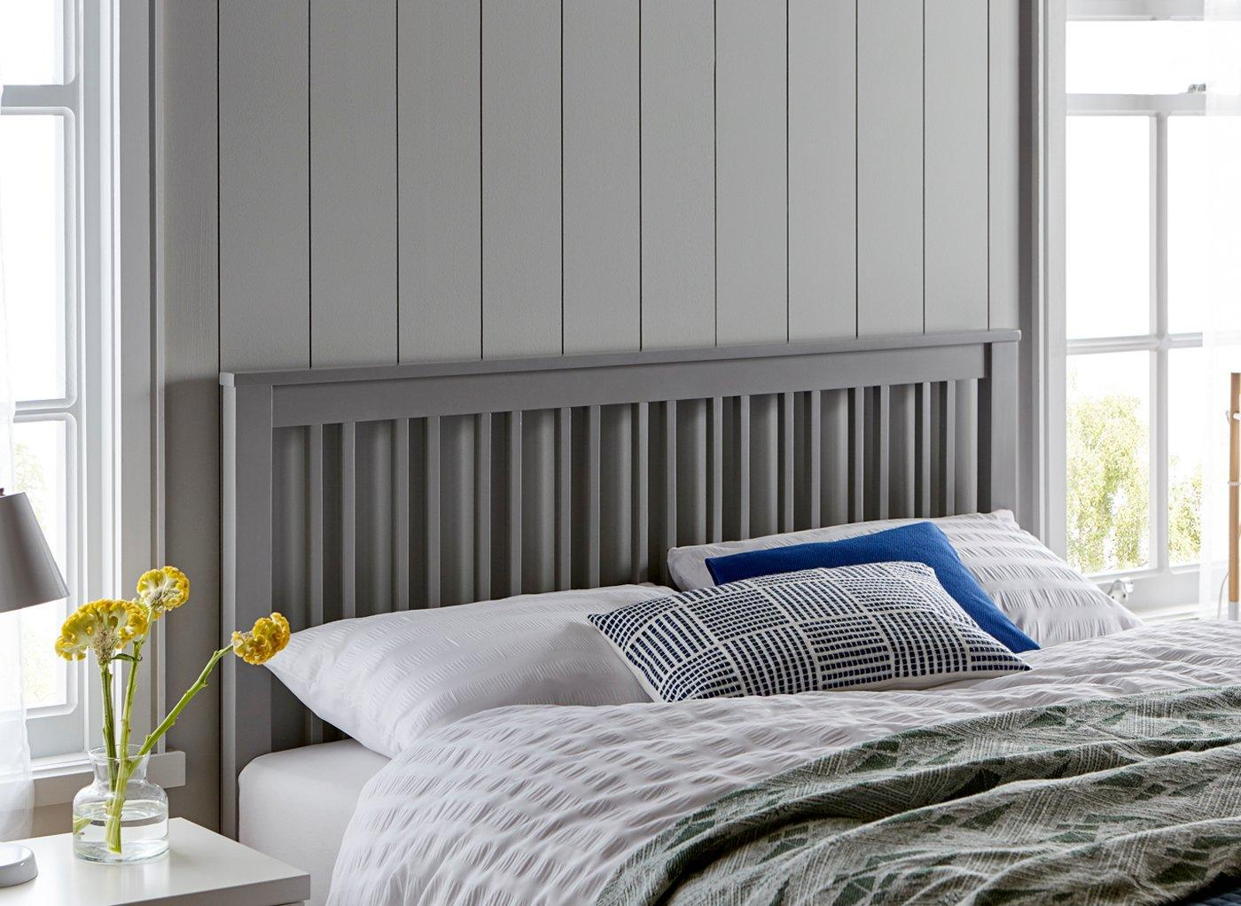 Melton Headboard 3'0 Single GREY