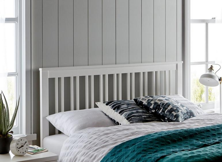 Melton Headboard 5'0 King WHITE