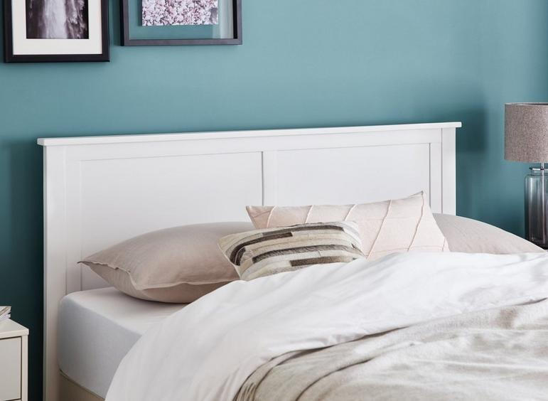 Griffith Headboard 5'0 King WHITE