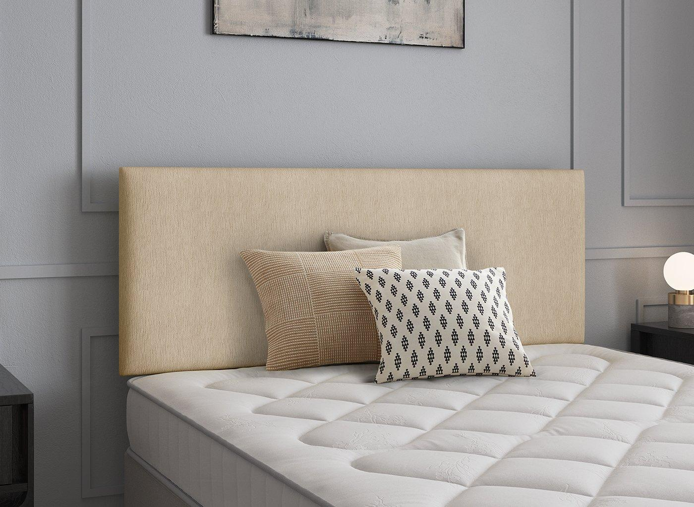 Newark Headboard 4'0 Small double CREAM