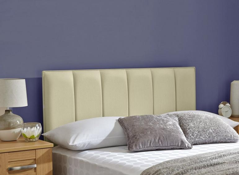 Columbia Headboard 3'0 Single CREAM
