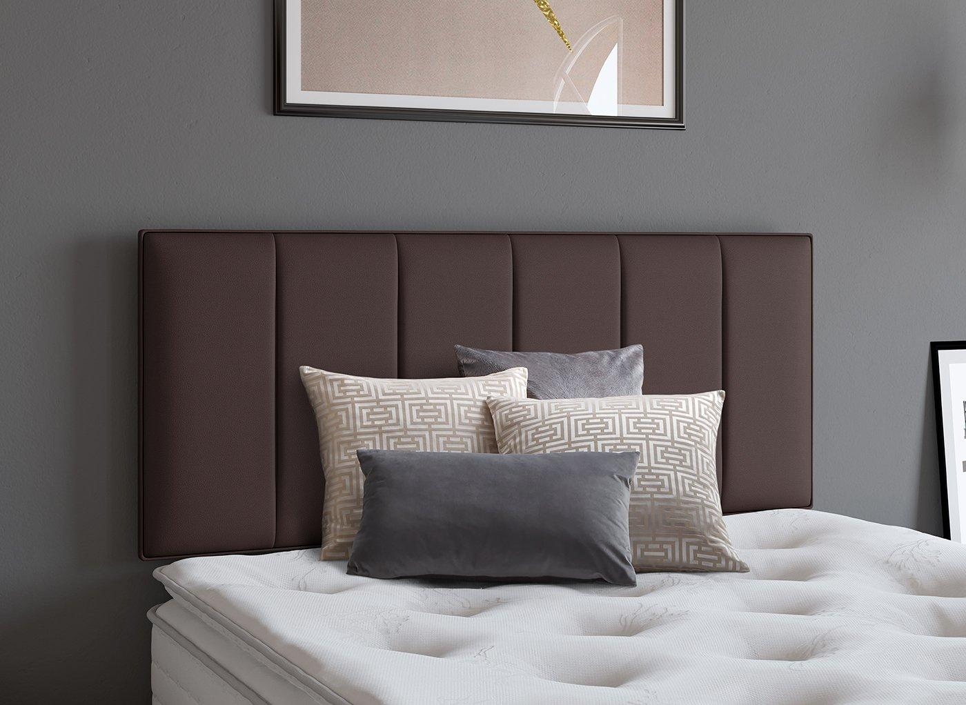 Columbia Headboard 2'6 Small single BROWN