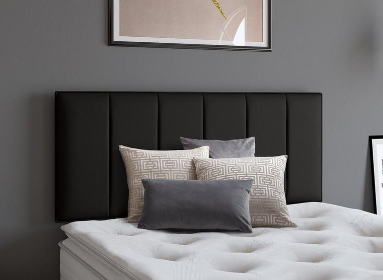 Columbia Headboard 2'6 Small single BLACK