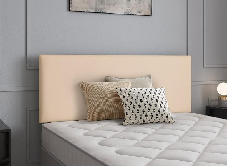 Newark Headboard 4'6 Double CREAM