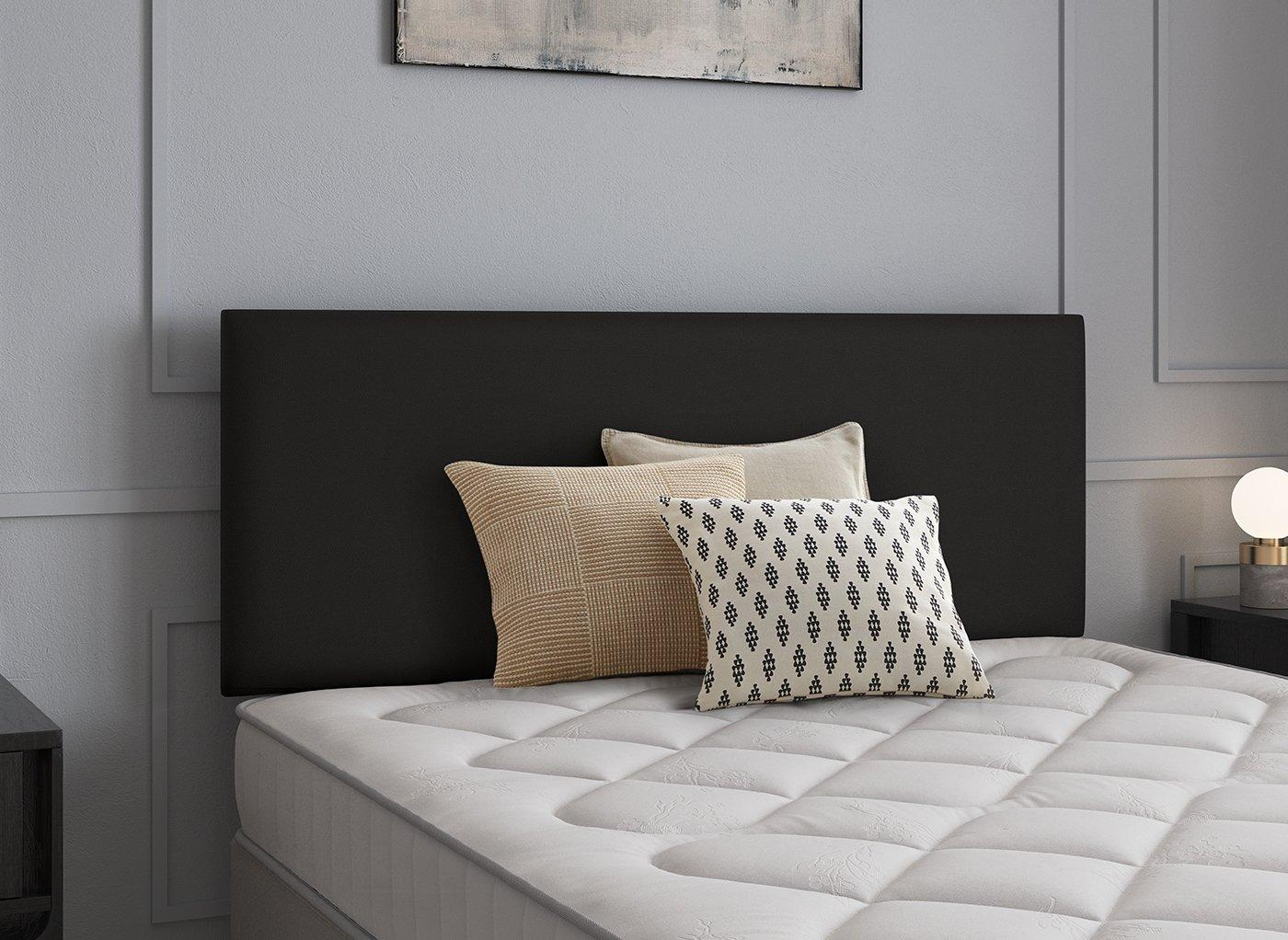 Newark Headboard 2'6 Small single BLACK