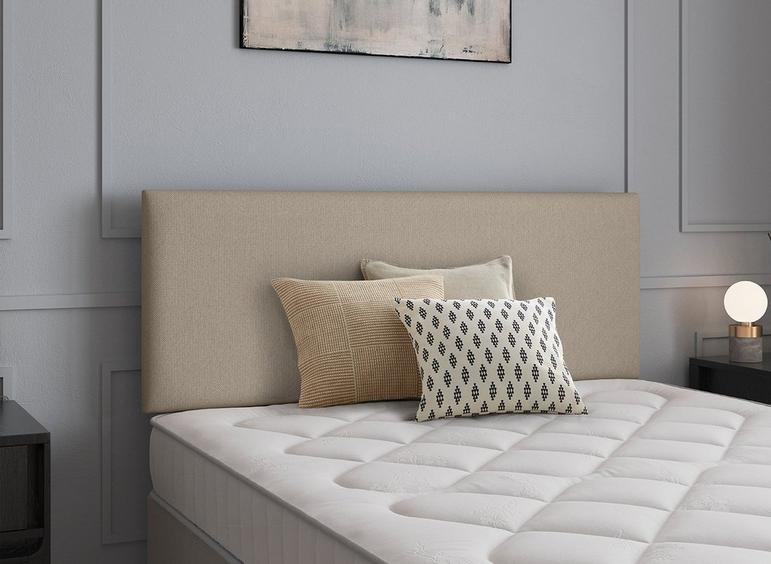 Newark Headboard 4'6 Double BEIGE