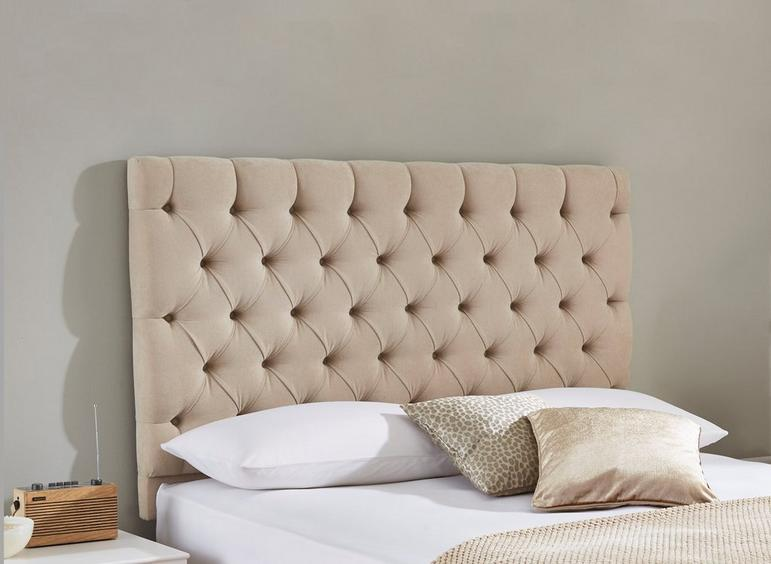 Harrogate Headboard 3'0 Single CREAM