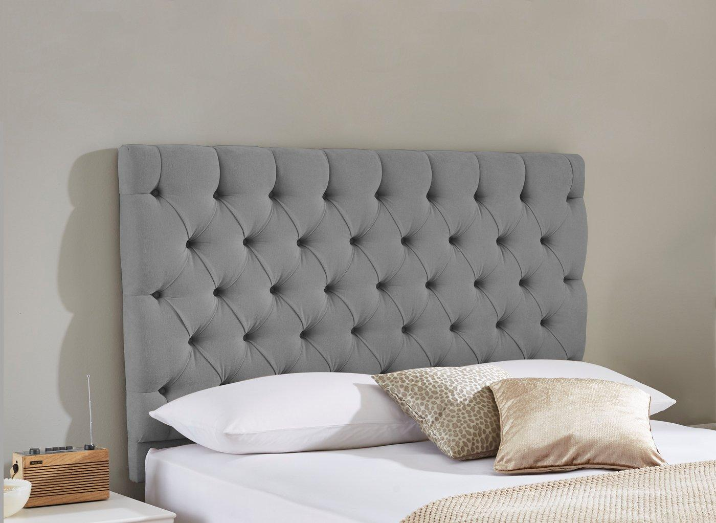 Harrogate Headboard 6'0 Super king GREY