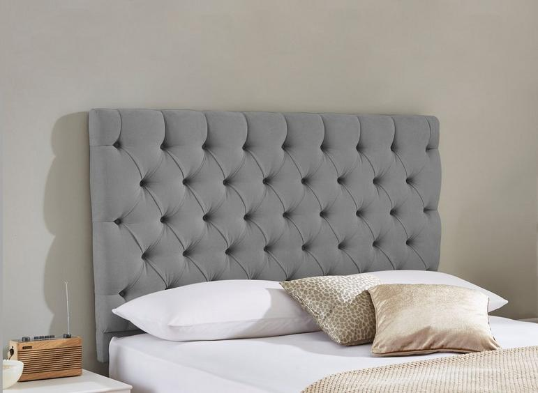 Harrogate Headboard 4'0 Small double GREY